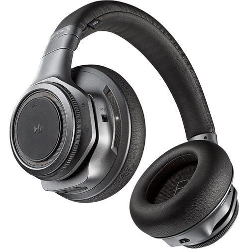 Plantronics BackBeat PRO+ Wireless Headphones with Mic and Hi-Fi USB Adapter