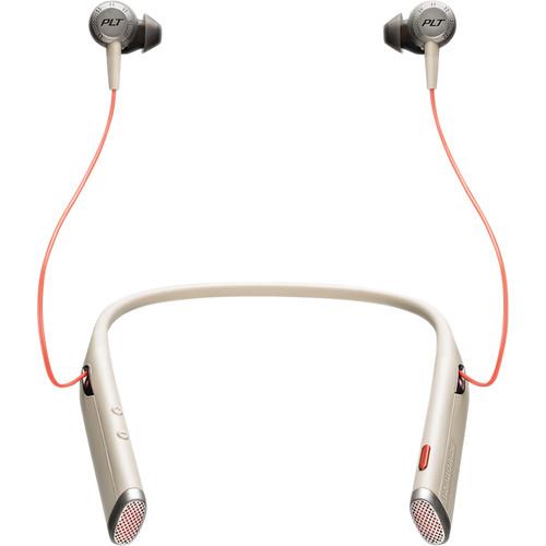 Plantronics Voyager 6200 UC Bluetooth Neckband Headset (Sand)