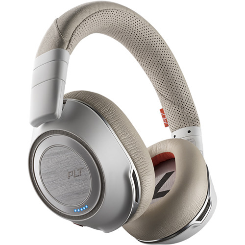 Plantronics Voyager 8200 UC Stereo Bluetooth Headset with Active Noise Canceling (White)