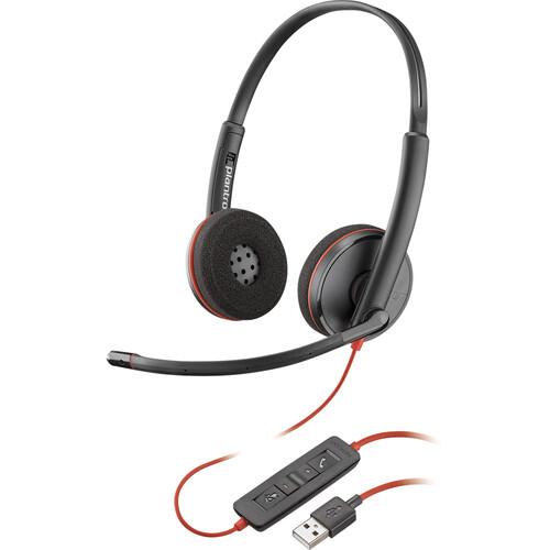 Plantronics Blackwire 3225 USB Type-A Corded Binaural UC Headset