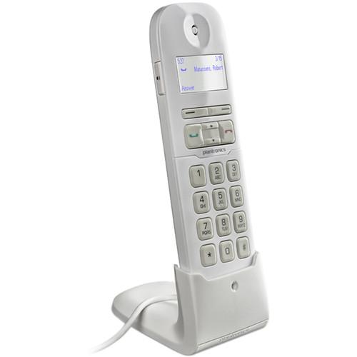 Plantronics Calisto P240 USB Corded Handset (Standard, White)