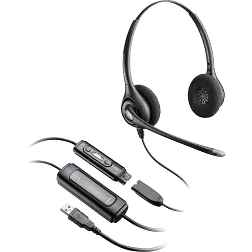 Plantronics D261N / DA45 USB Headset with Microphone and Quick Disconnect Cord