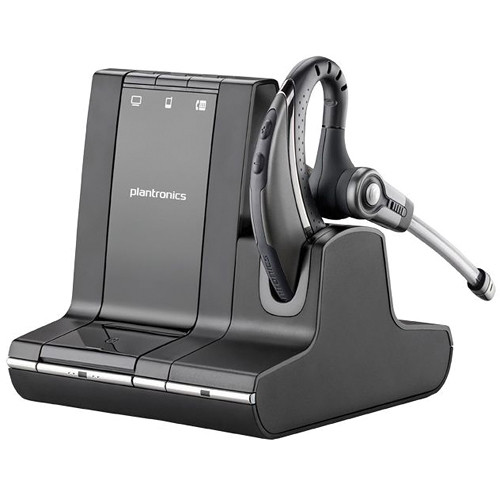 Plantronics Savi W730-M Multi Device Wireless Over-the-Ear Headset System