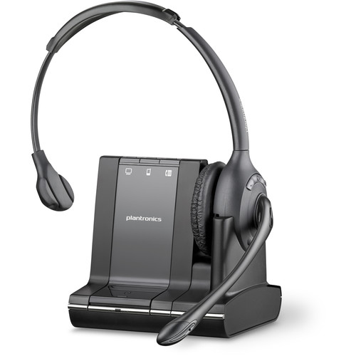 Plantronics Savi W710-M Multi Device Wireless Over-the-Head Headset System