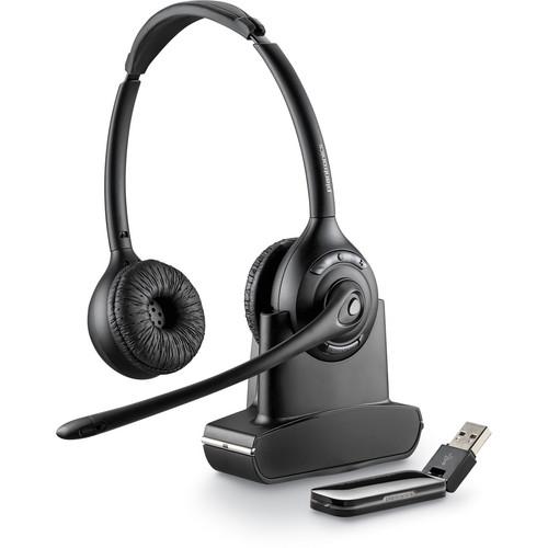 Plantronics Savi W420 Binaural Over-the-Head USB Wireless Headset with Mic (Standard)