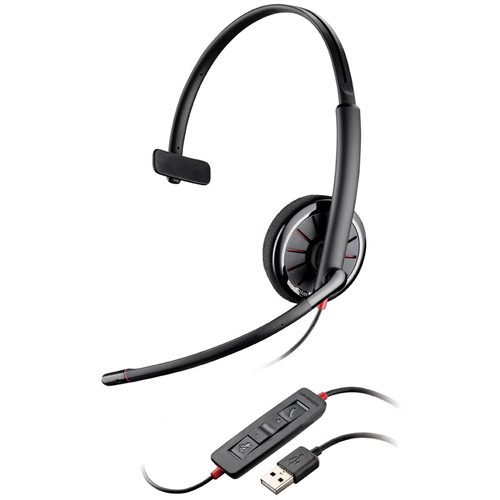 Plantronics Blackwire C310-M Corded USB Monaural Headset for Microsoft Lync and Skype for Business