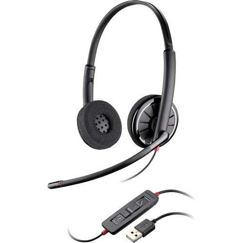 Plantronics Blackwire C320-M USB Corded Headset (Microsoft Optimized)