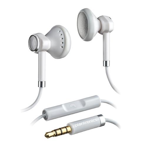Plantronics Backbeat 116 - Stereo Earphones (White)