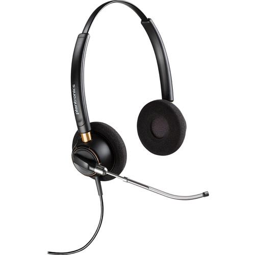 Plantronics EncorePro 520V Binaural Voice Tube Headset