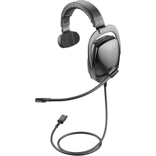 Plantronics SHR2082-01 Single-Channel Circumaural Ruggedized Monaural Headset