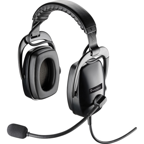 Plantronics SHR2083-01 Wired Circumaural Stereo Headset with Quick Disconnect
