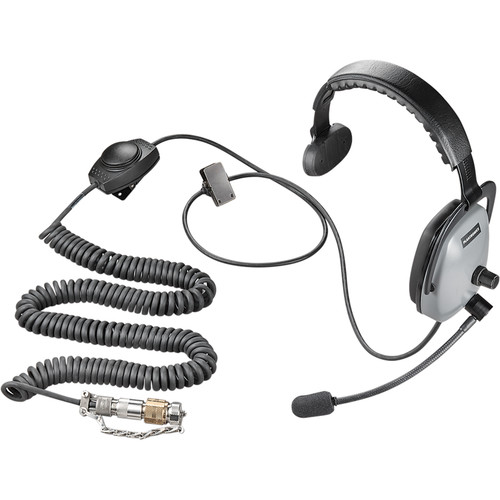 Plantronics Ruggedized Headset with Nexus TP105 Connector (Black)