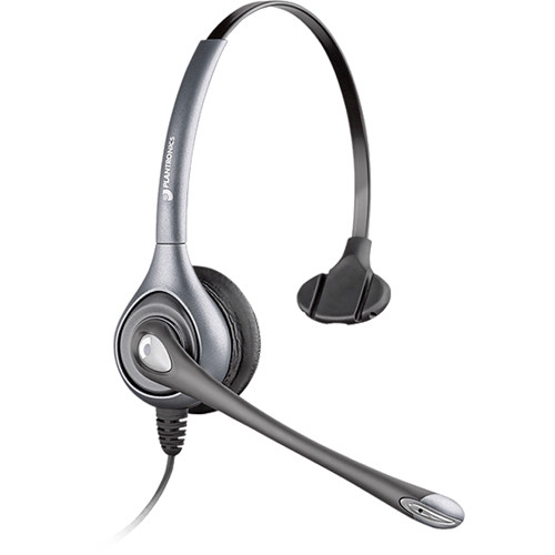 Plantronics MS250 Commercial Aviation Headset with XLR5 Plug for Airbus