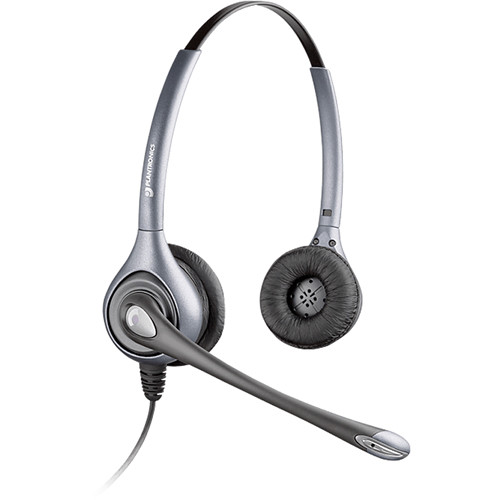 Plantronics MS260 Commercial Aviation Headset with XLR5 Plug for Airbus