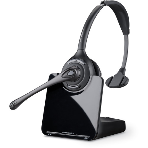 Plantronics CS510 Wireless Monaural Headset Kit with HL10 Handset Lifter for Savi Wireless System
