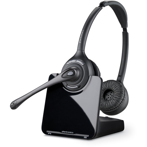 Plantronics CS520 Wireless Headset System with HL10 Handset Lifter