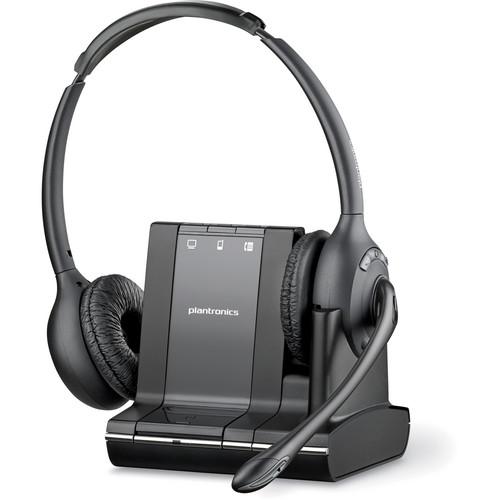 Plantronics Savi W720 Multi-Device Wireless Headset Kit with HL10 Handset Lifter for Savi Wireless System