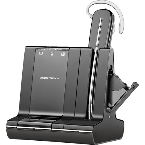 Plantronics Savi W745 Multi Device Wireless Headset Kit with HL10 Handset Lifter for Save Wireless System