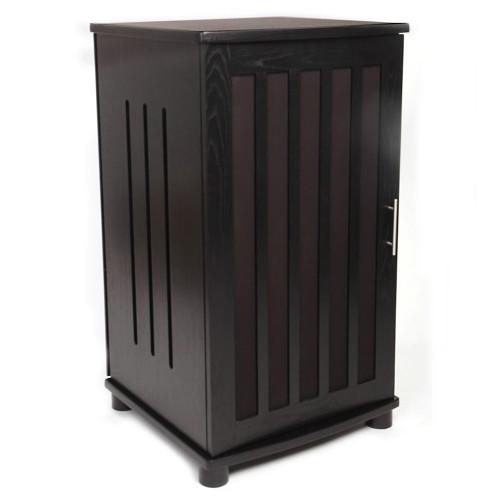PLATEAU LSX-A-41 Enclosed A/V Cabinet (Black Oak)