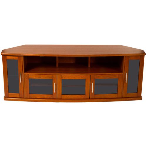 PLATEAU Newport 80 Corner TV Stand (Walnut)