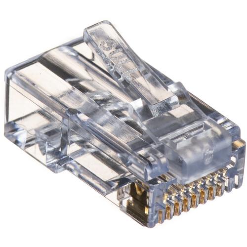 Platinum Tools EZ-RJ45 CAT6 Connectors (Clamshell Packaging, 10-Pieces)