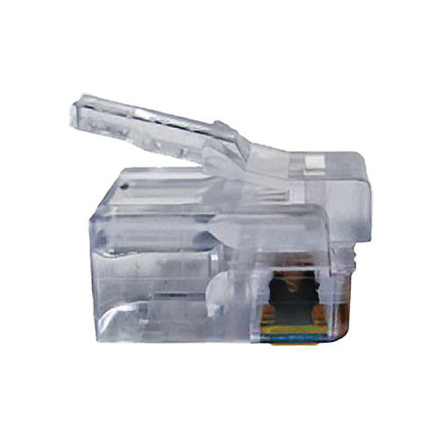 Platinum Tools EZ-RJ12/11 Connector with Standard Tab (Clamshell, 50-Pieces)