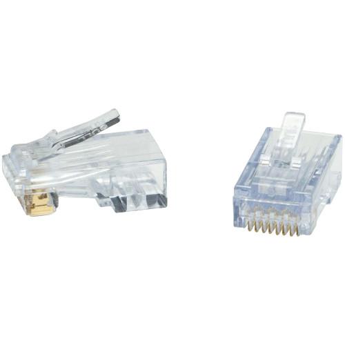 Platinum Tools ezEX48 RJ45 Connector (50-Pieces / Clamshell)