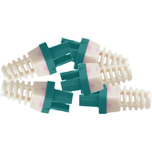 Platinum Tools Strain Reliefs for EZ-RJ45 CAT6 Connectors (50-Pack, Green)