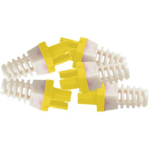 Platinum Tools Strain Reliefs for EZ-RJ45 CAT6 Connectors (50-Pack, Yellow)