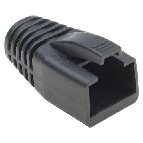 Platinum Tools RJ-45 Boot with 8mm Maximum OD (Black, 25-Pack)