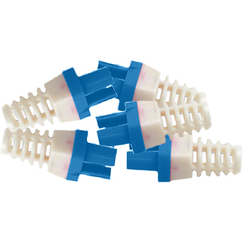 Platinum Tools Strain Reliefs for CAT6 Connector (Blue)