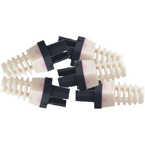 Platinum Tools Strain Relief for Cat 6 Connector (500-Pack, Black)