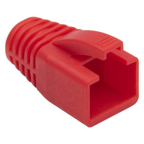 Platinum Tools RJ45 Boot 8.0mm Max OD (100-Pack, Red)