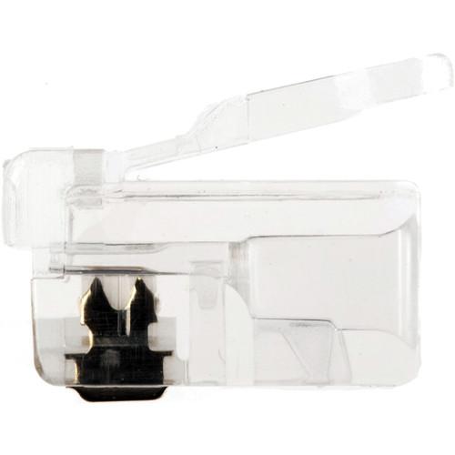 Platinum Tools RJ22-4P4C Modular Plug (100 Pack, Jar)
