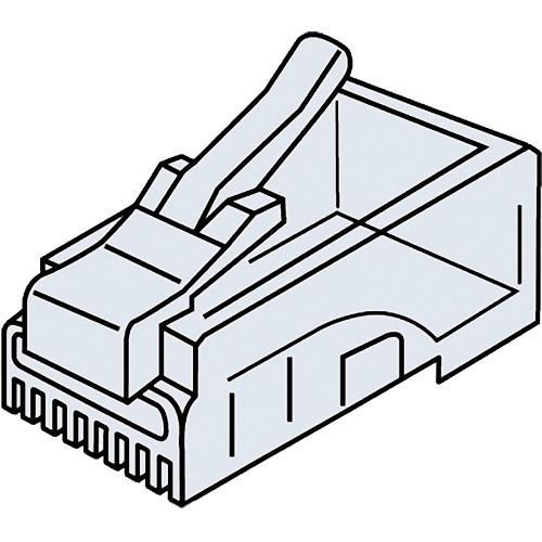 Platinum Tools CAT5e RJ45-8P8C Modular Connector (Clamshell Packaging, 25-Pieces)