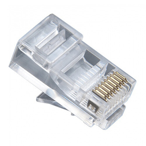 Platinum Tools CAT5e RJ45-8P8C Modular Connector (Jar Packaging, 100-Pieces)