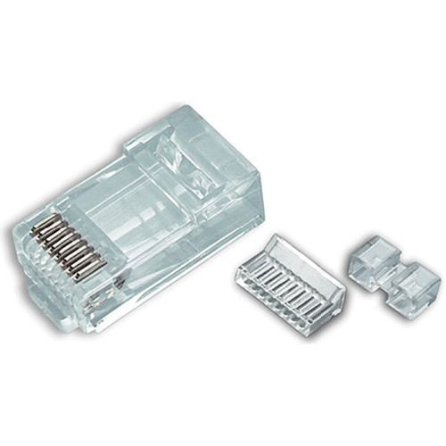Platinum Tools Cat 6 RJ45-8P8C Connector (Bag, 500-Pieces)