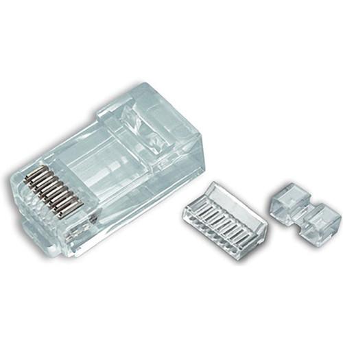 Platinum Tools Cat 6 RJ45-8P8C Connector (Jar, 100-Pieces)