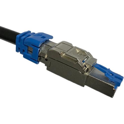 Platinum Tools PoE+ 10Gig RJ45 Shielded Field Plug 2 (Clamshell Packaging)