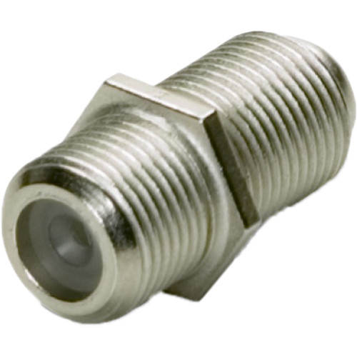 Platinum Tools F81 Coaxial F Connector Coupler (2-Pack)