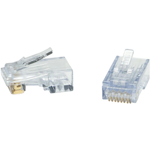 Platinum Tools ezEX48 RJ45 Connector (100-Pieces / Jar)