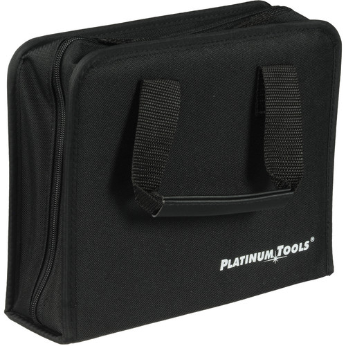 Platinum Tools 4002PT Nylon Zippered Case with Handles (Black)