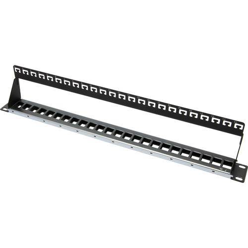 Platinum Tools 24-Port Unloaded Shielded Patch Panel (1 RU)