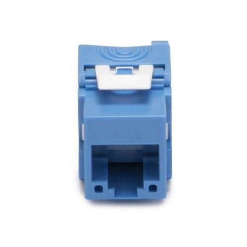 Platinum Tools Keystone Cat 6a Jack (UTP, Blue)