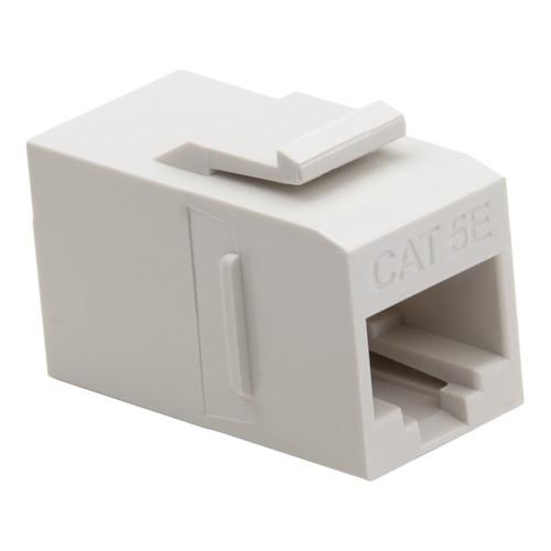 Platinum Tools Keystone Cat5e Data Coupler (White, 10-Pack)