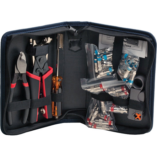 Platinum Tools Coaxial Termination Kit