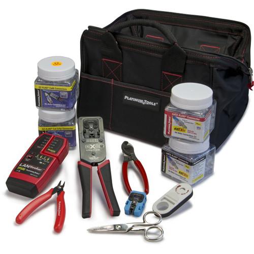 Platinum Tools EXO Deluxe Termination & Test Kit