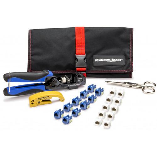 Platinum Tools Xpress Jack Keystone Termination Kit