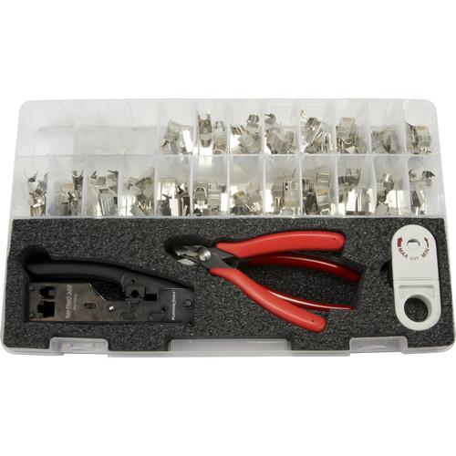 Platinum Tools Cat6A/7 28 - 26 AWG Termination Kit