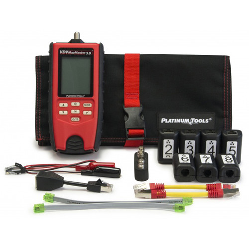 Platinum Tools T130K2 VDV MapMaster 3.0 Cable Tester Pro Kit